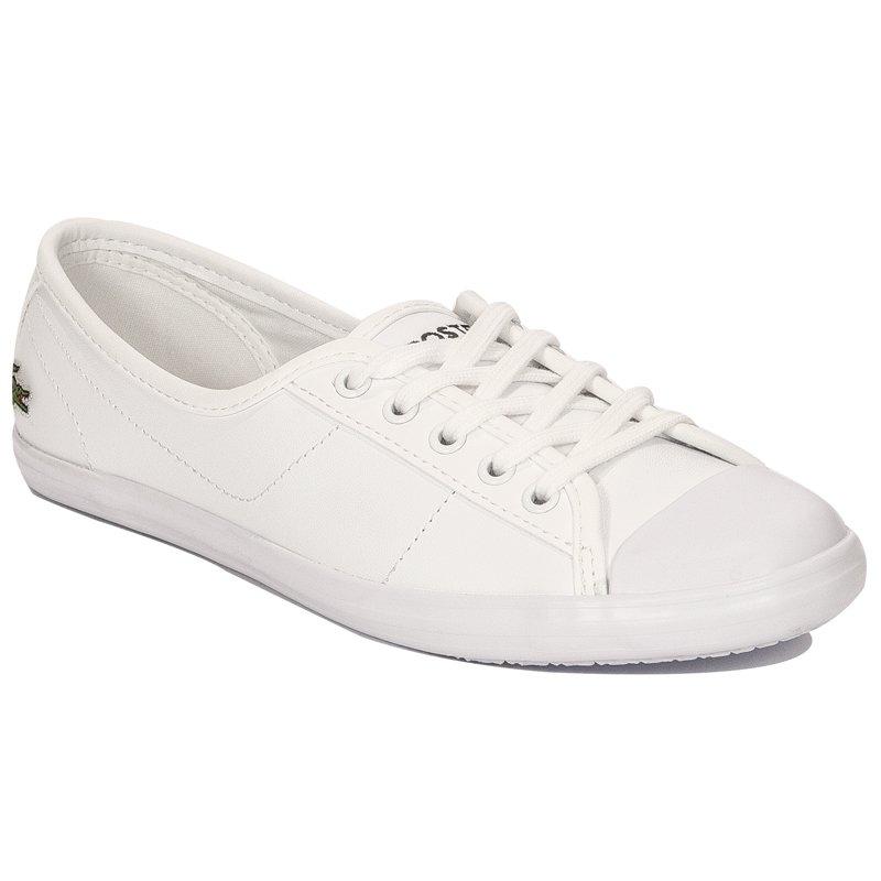 6cad634226b9 Lacoste Ziane BL 1 CFA WHT White Trainers - Lacoste - Obuwie damskie ...