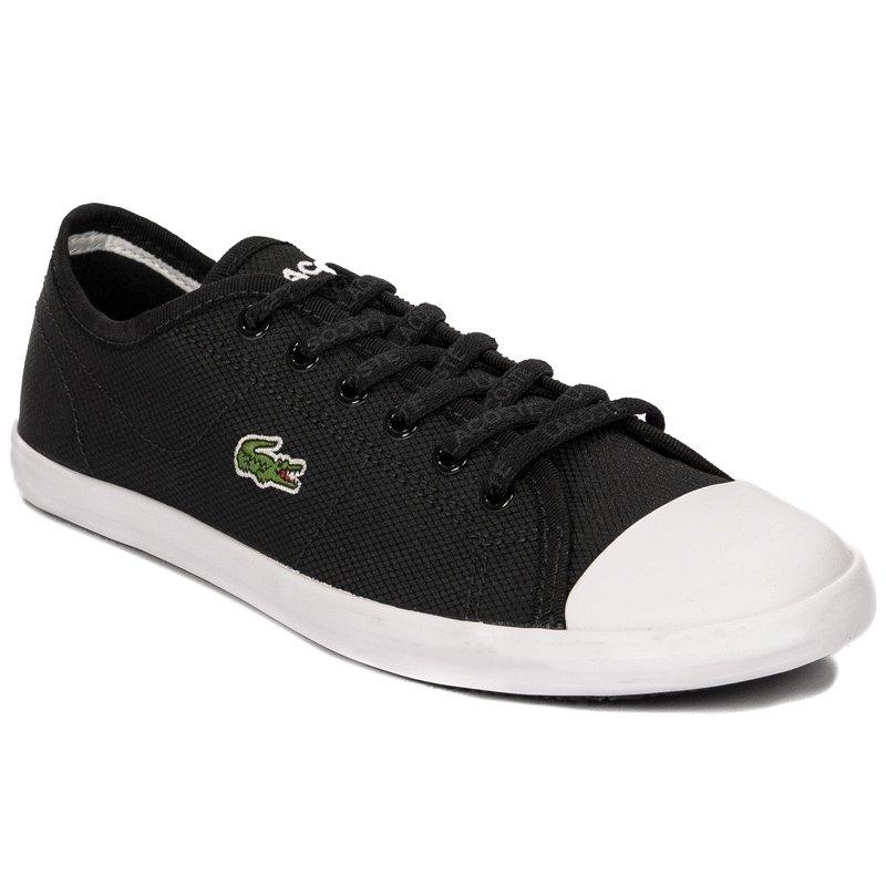 e55d73ac334c Lacoste Ziane Sneaker 119 1 CFA BLK-WHT Black Sneakers - Lacoste ...