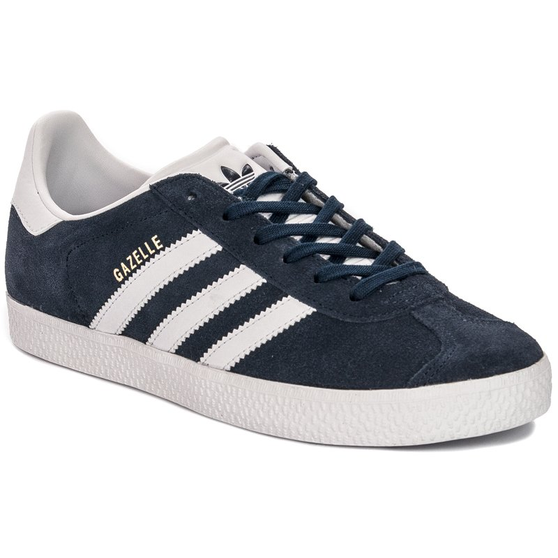 f8643646 Adidas Gazelle J BY9144 Navy Blue White Sneakers - Adidas - Obuwie ...