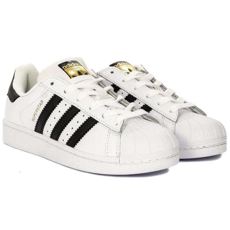 tani szybka dostawa odebrane Adidas Superstar C77124 White Sneakers