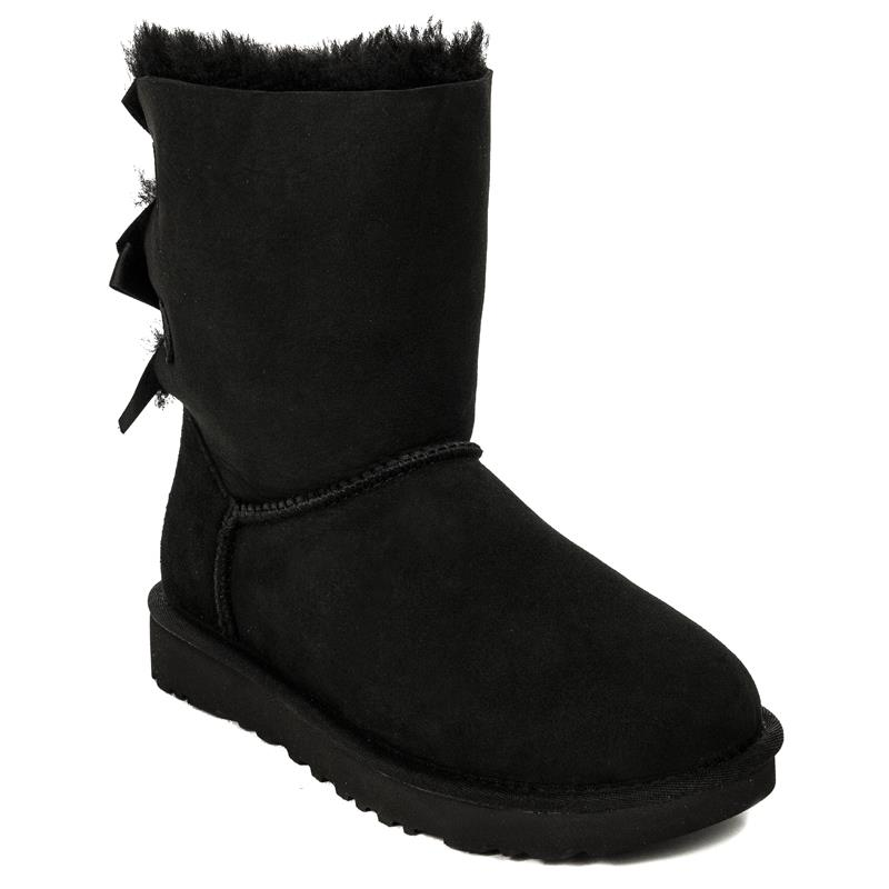 2a8c75a80ed UGG 1016225 BAILEY BOW II BLACK Boots