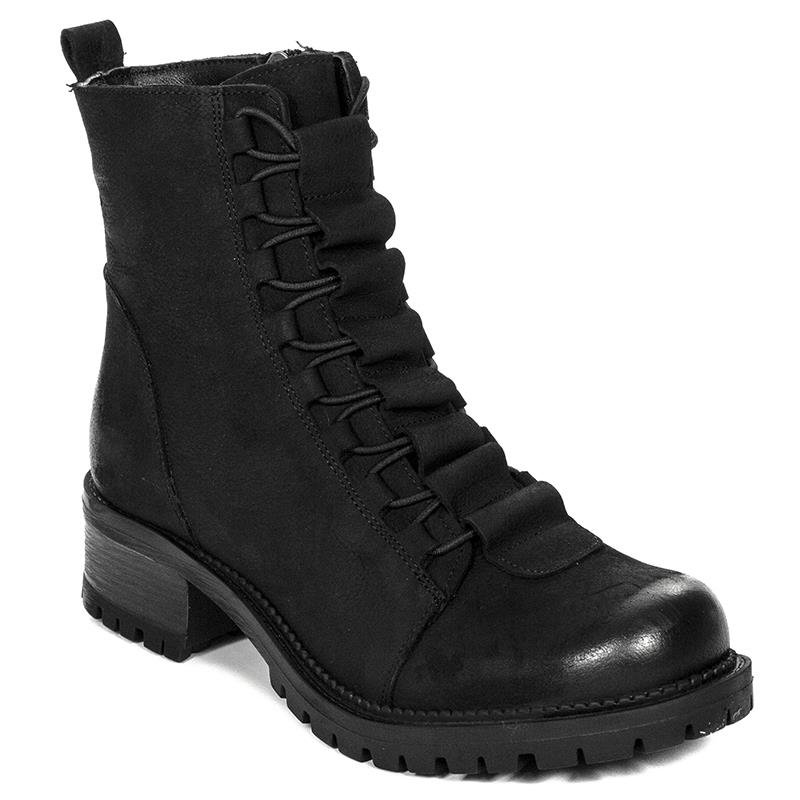 b6c7c5ea Venezia 6353201 BLACK Lace-up Boots - Venezia - Obuwie damskie Botki ...