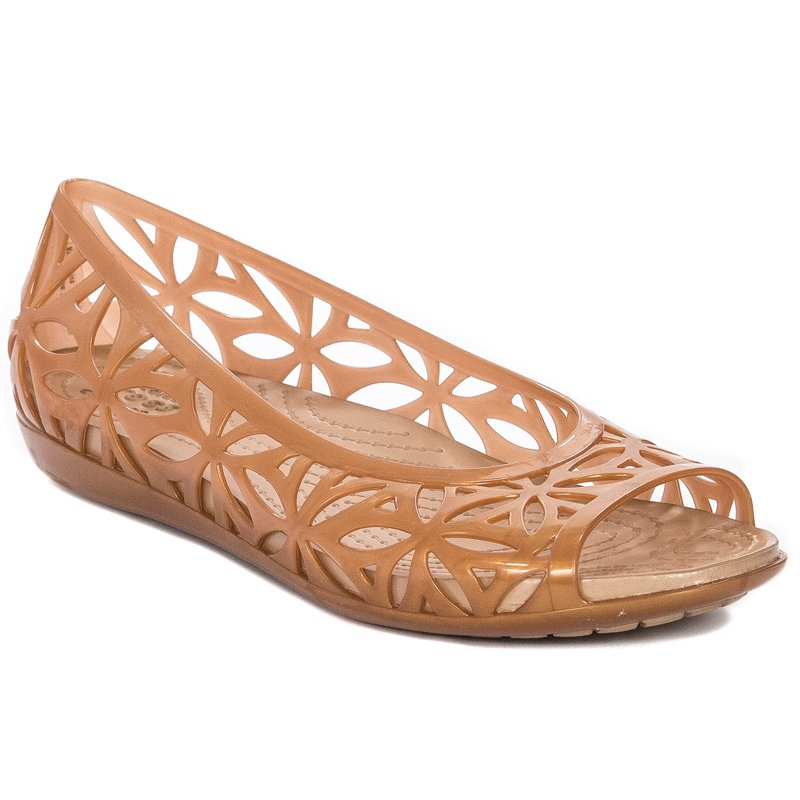 różne style szeroki wybór oficjalny dostawca Crocs 204941-276 Dark Gold Sandals