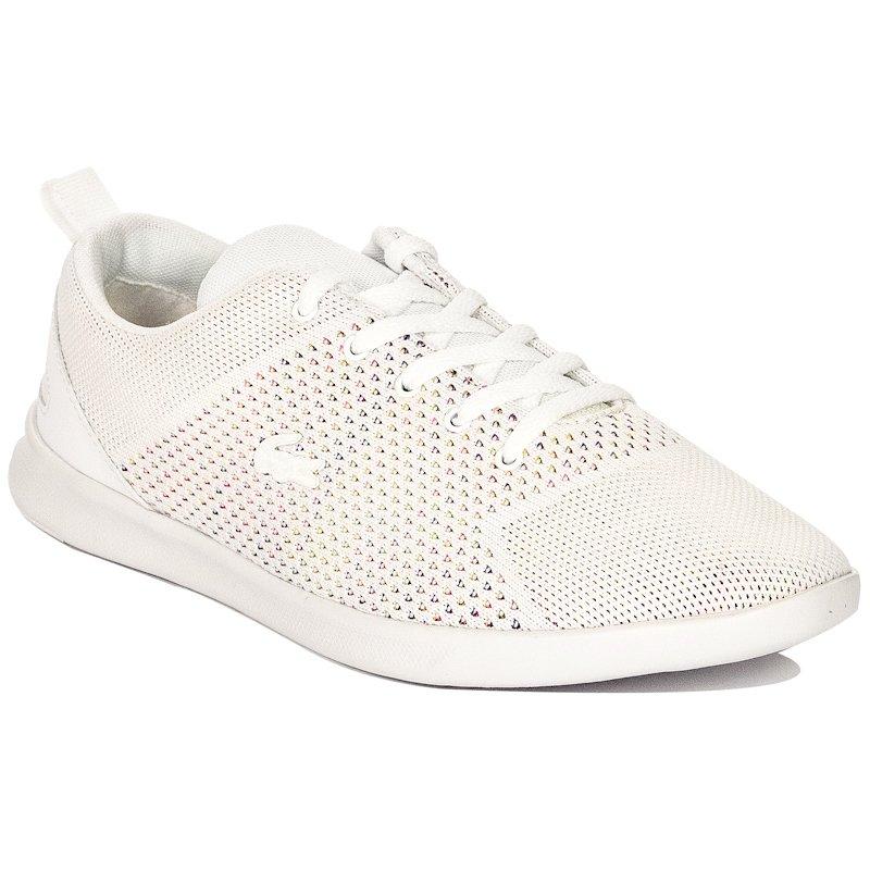 50f57e5e8094f Lacoste Avenir Knit 119 2 SFA White Sneakers - Lacoste - Obuwie ...