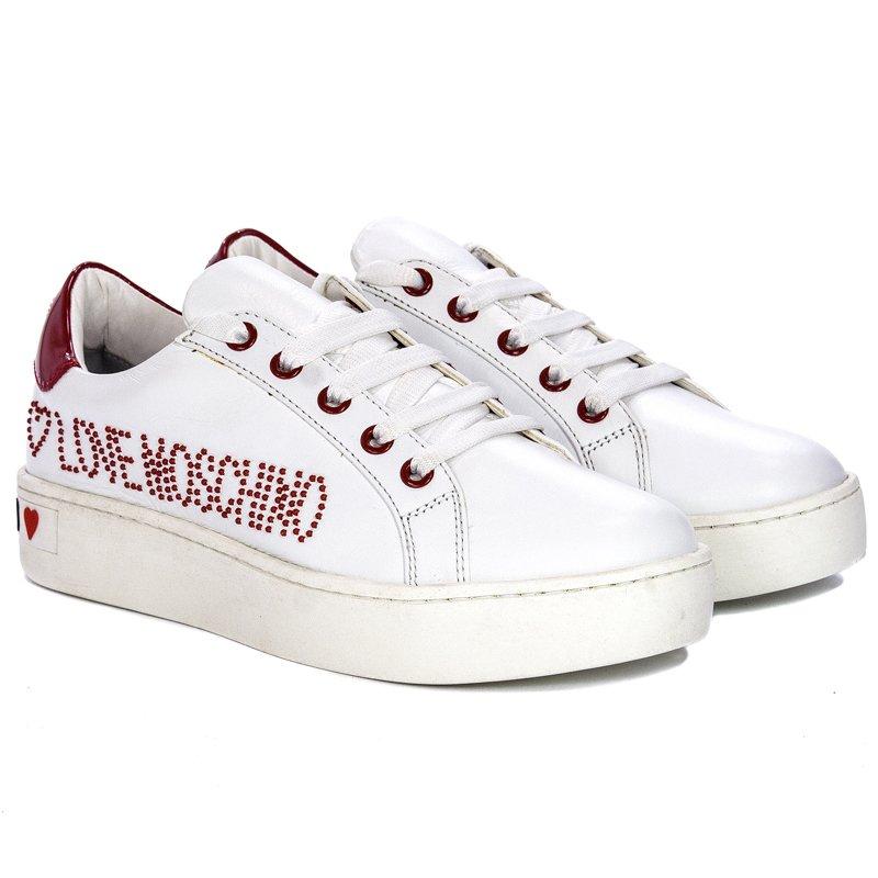 love moschino slip on sneakers