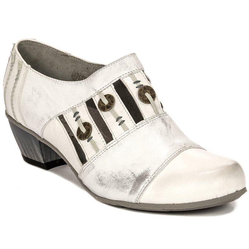 b2e15c8a0a3 Maciejka 03400-11-00-5 White Flat Shoes - Maciejka - Obuwie damskie ...