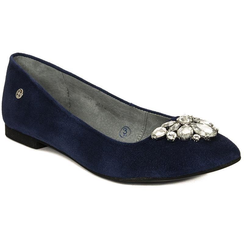 3ba6bec4 Maciejka 03574-17-00-5 Navy Blue Ballerina - Maciejka - Obuwie ...