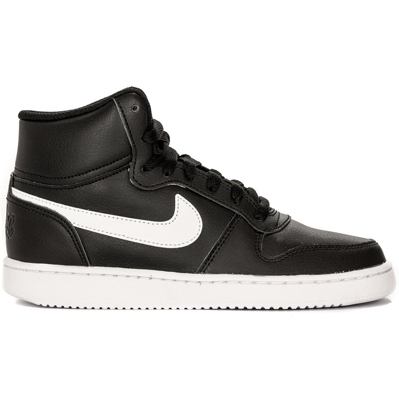Abierto ley siete y media  Nike Ebernon Mid AQ 1778-001 Black Sneakers - Nike - Obuwie damskie Półbuty  - Midiamo.pl