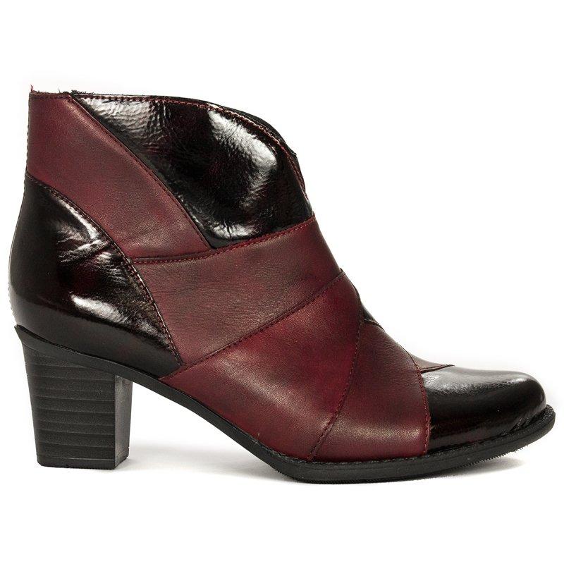 Rieker Z7676 35 Burgundy Boots