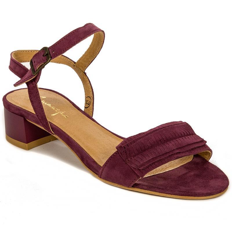 0091f380d26 Maciejka 03612-23-00-5 Burgundy Sandals