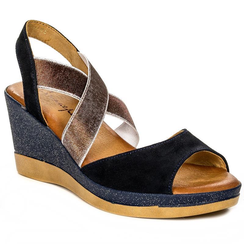 937151cc Maciejka 03617-17-00-5 Navy Blue Sandals - Maciejka - Obuwie damskie ...