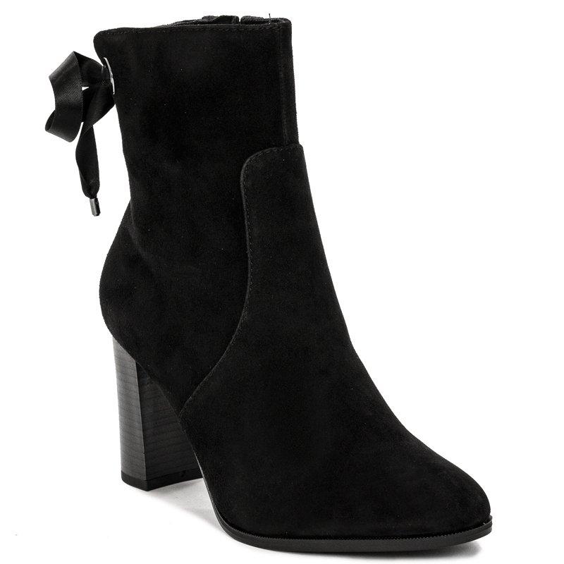 tanie trampki sprzedaż uk nowy przyjeżdża Tamaris 1-25380-23 001 Black Boots