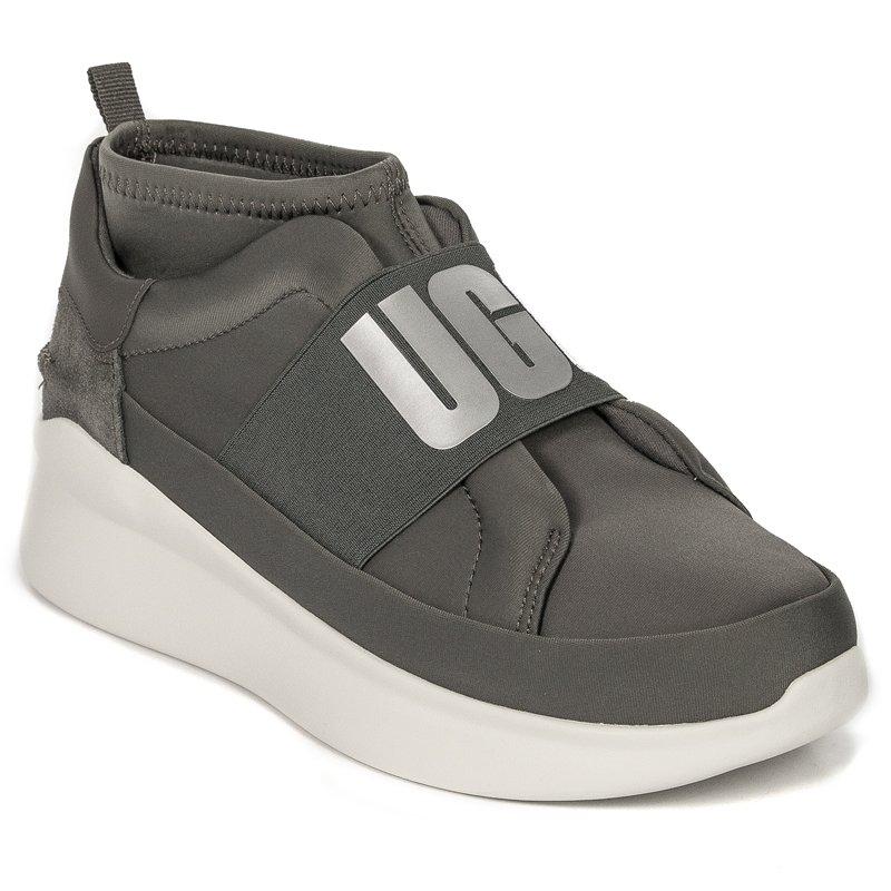 88b7fdb0747 UGG 1095097 NEUTRA CHARCOAL Gray Sneakers