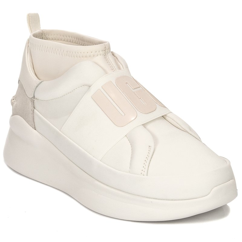 553348b2e82 UGG 1095097 NEUTRA COCONUT MILK White Sneakers