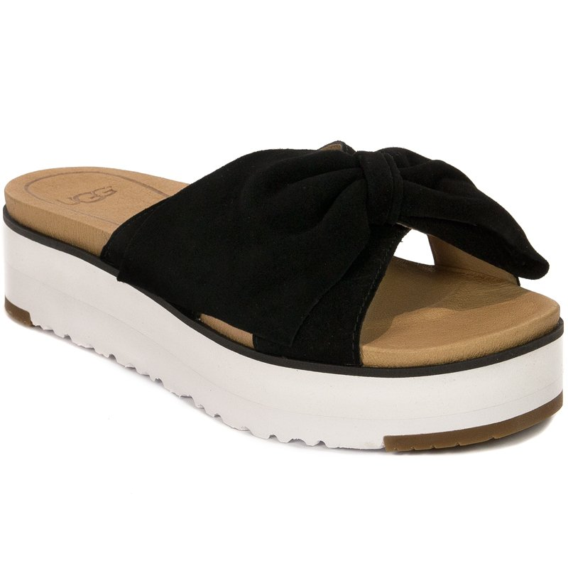 5cecb75c1f4 UGG 1099803 Joan II Black Slides - UGG - Obuwie damskie Klapki ...