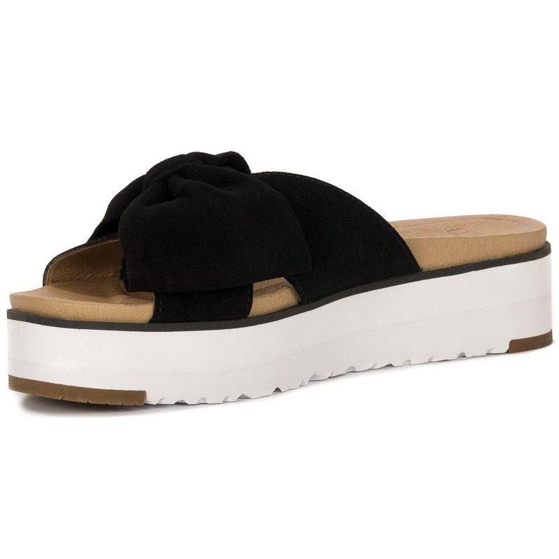 3750e48c6b6 UGG 1099803 Joan II Black Slides