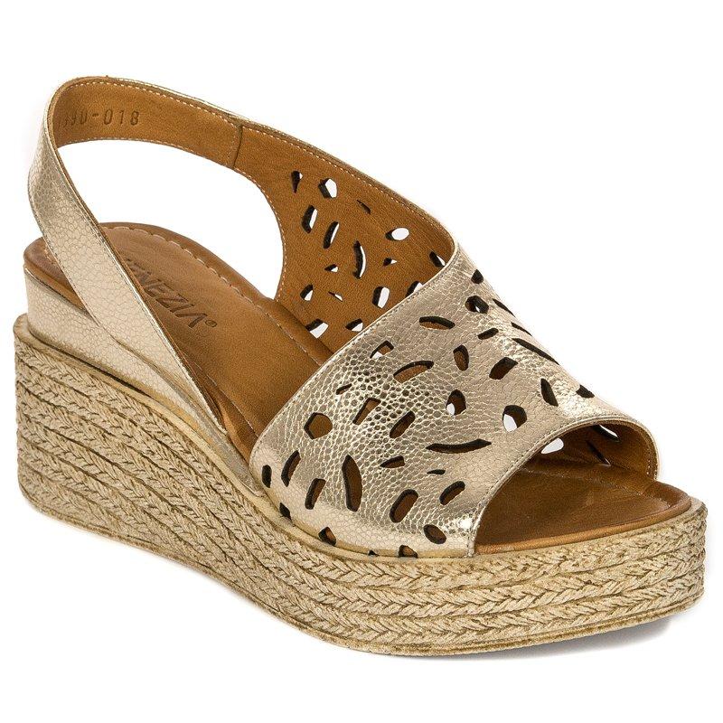 8554306f37dde Venezia 04141390GOW19 Gold Sandals · Venezia 04141390GOW19 Gold Sandals ...