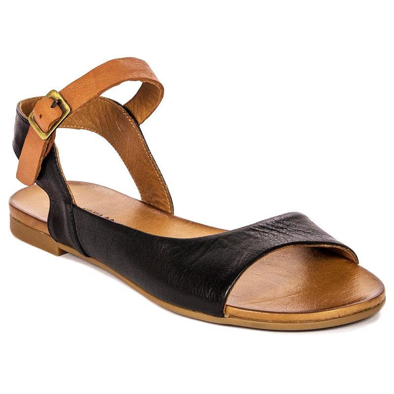 45844224fc842 Venezia 19134 BLA-COC Black Sandals - Venezia - Obuwie damskie ...