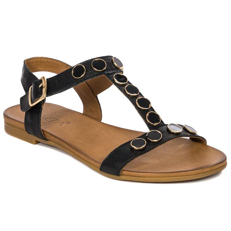 7cf7fe4af1a65 Venezia 19560 Black Sandals - Venezia - Obuwie damskie Sandały ...