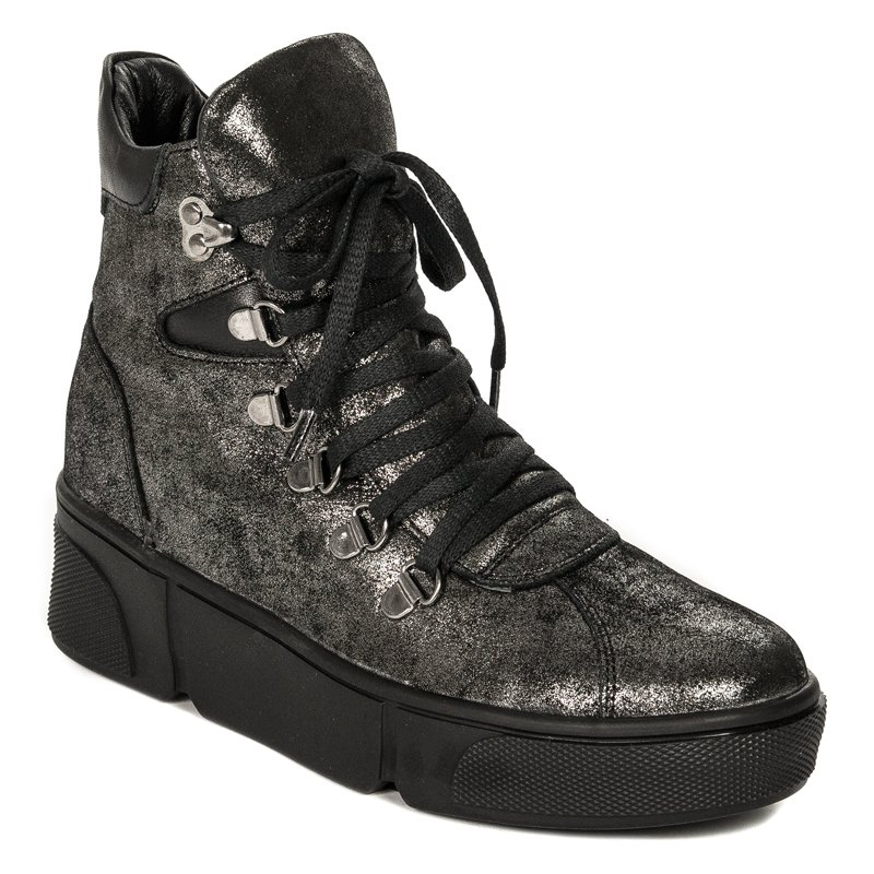 cf73380f Venezia SINE 107308 BLAC S Black Boots - Venezia - Obuwie damskie ...