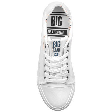 Big Star  AA274511 White Trainers