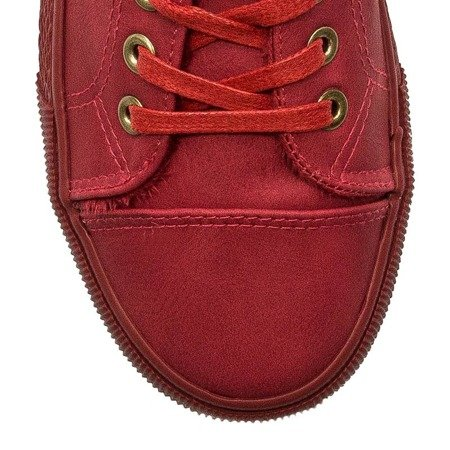 Big Star BB274052 Red Trainers