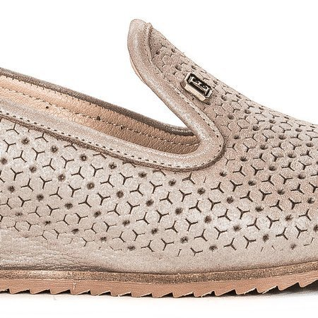 Boccato 137 5178 15 Beige Flat Shoes