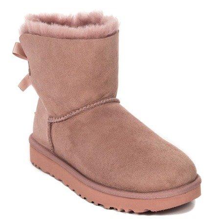 e2d69df14c94 UGG 1016501 MINI BAILEY BOW II DUSK Pink Boots - UGG - Obuwie ...