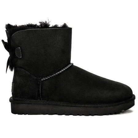 UGG 1016501 MINI BAILEY BOW II BLACK Boots