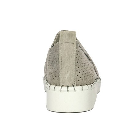 Filippo DP063-19GR Gray Flat Shoes