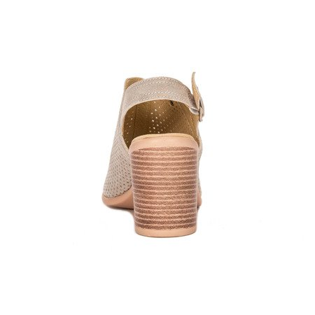 Filippo DS757-20 Gold Sandals