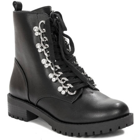Guess FL7HIEELE10 Black Boots