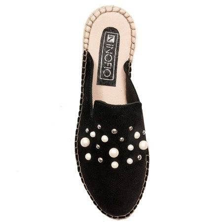 Inofio FAB24-02-00-0 Black Slippers