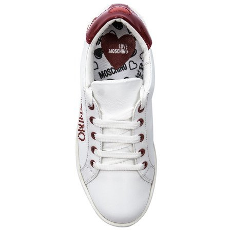 Love Moschino JA15163G18IFL100 White Sneakers