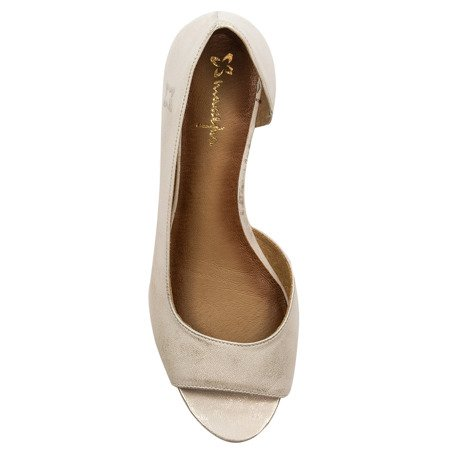 Maciejka 01304-48-00-5 Gold Flat Shoes