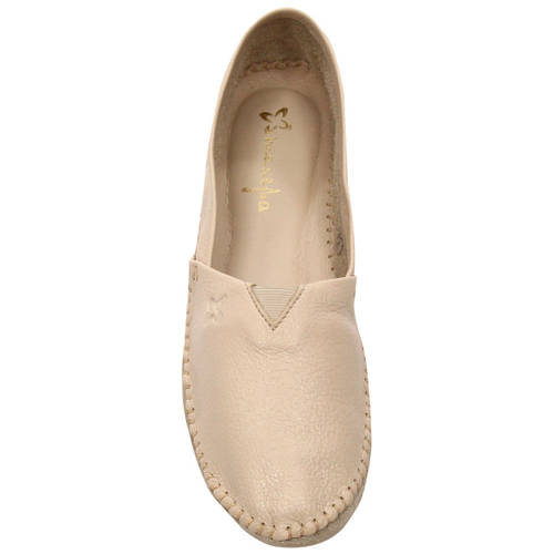 Maciejka 01930-04-00-0 Beige Flat Shoes