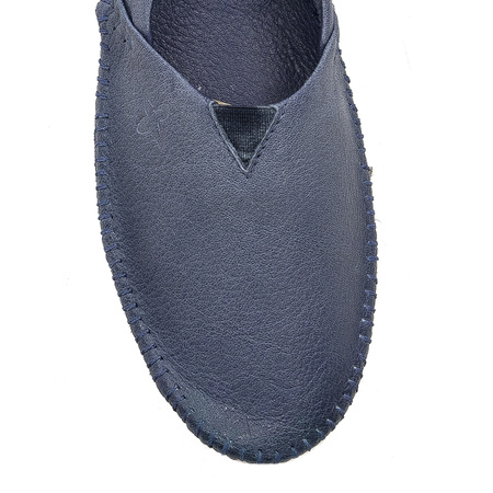 Maciejka 01930-17-00-0 Navy Blue Flat Shoes