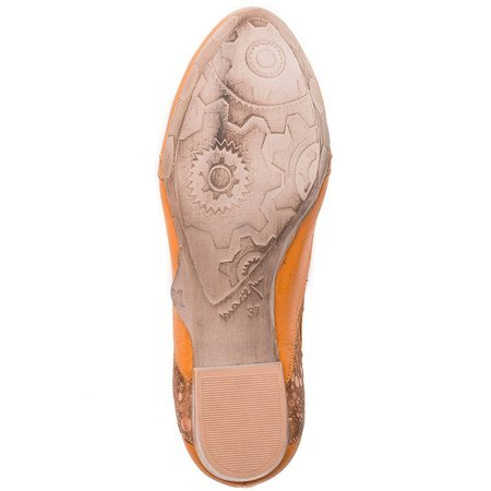 Maciejka 02375-18-00-5 Peach Flat Shoes