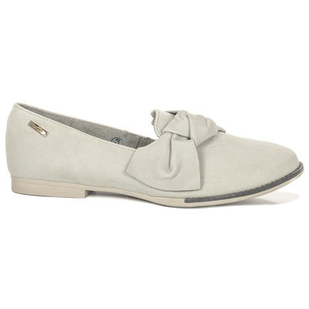 Maciejka 02896-03-00-5 Gray Flat Shoes