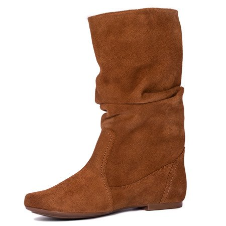 Maciejka 03266-62-00-6 Brown Knee-High Boots
