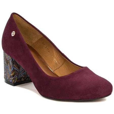 Maciejka 03356-60-00-1 Burgundy Pumps