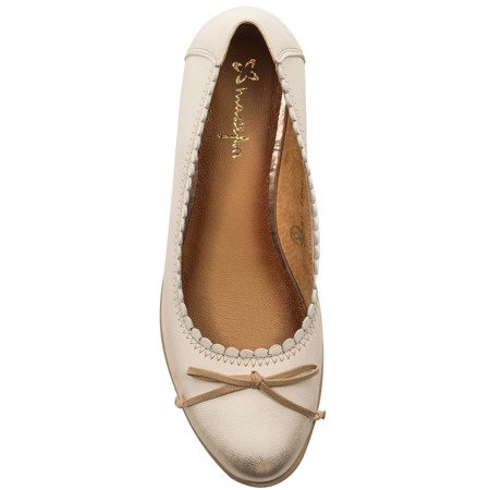 Maciejka 03469-25-00-5 Gold Flat Shoes