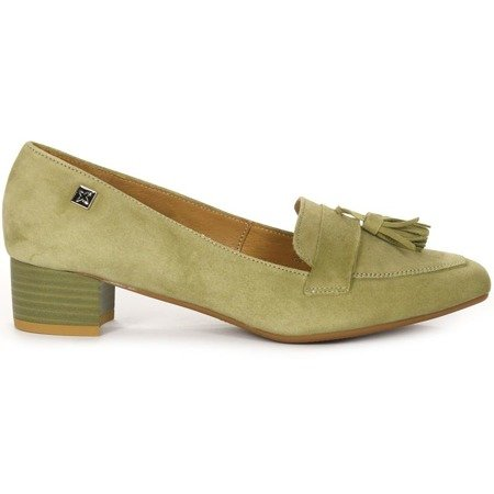 Maciejka 03487-09-00-1 Green Pumps