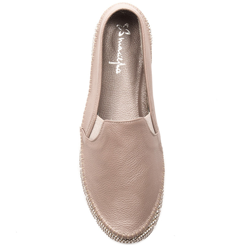 Maciejka 03512-10-00-0 Beige Flat Shoes