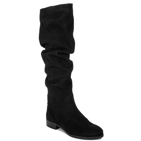 Maciejka 03848-21-00-6 Black Knee-high Boots