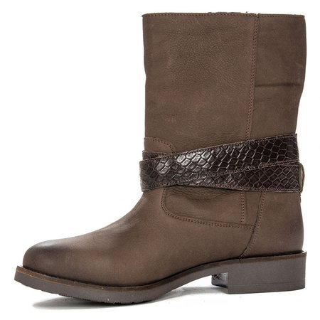 Maciejka 03953-45-00-6 Brown Knee-high Boots