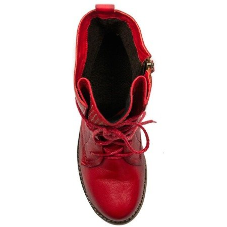 Maciejka 03959-08-00-3 Lace-up Boots Red