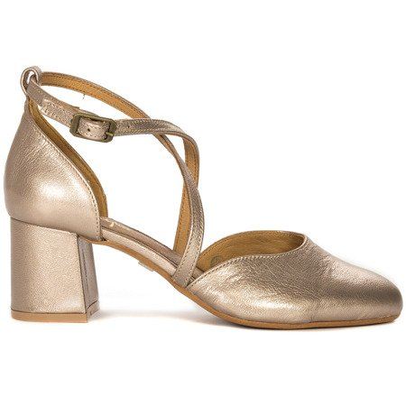 Maciejka 04070-25-00-1 Gold Pumps