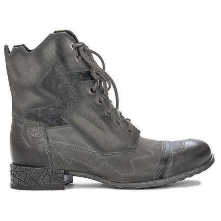Maciejka  04625-03-00-3 Gray Lace-up Boots