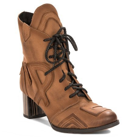 Maciejka  04678-29-00-3 Red Lace-up Boots
